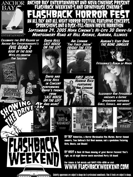 Flashback Weekend Horrorfest