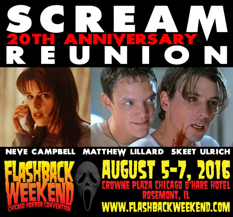 Celebrity Guests at Flashback Weekend Chicago Horror ...